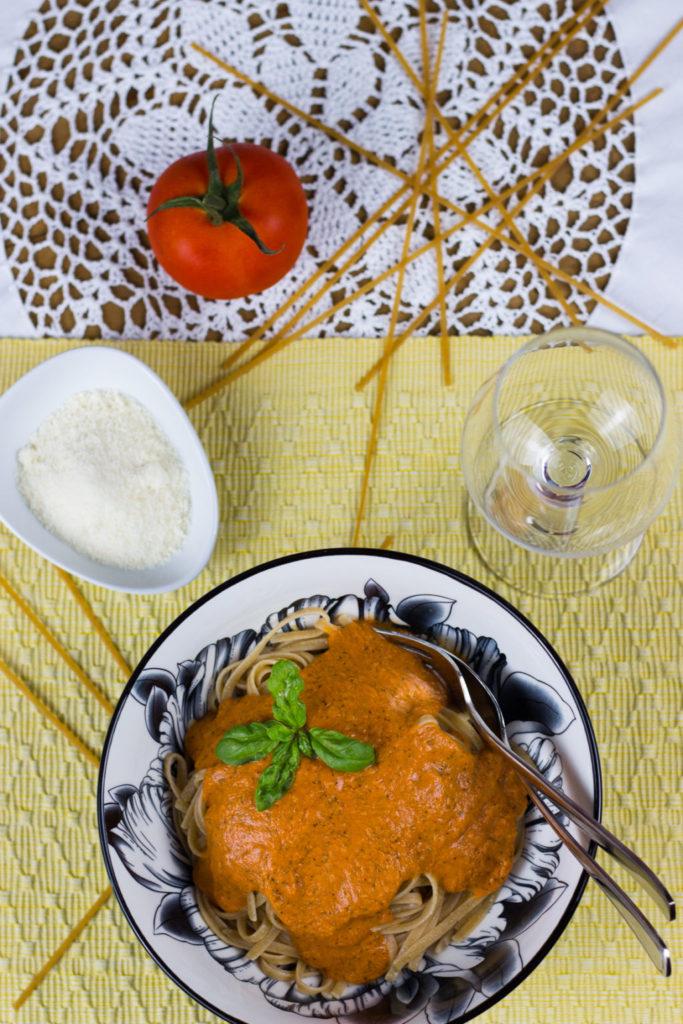 vegane Tomatensoße selber machen