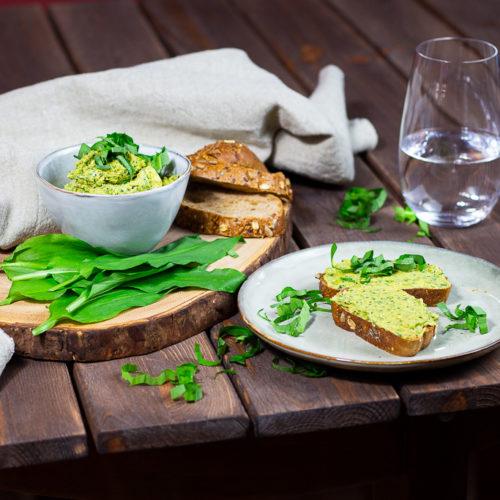 Vegane Bärlauch-Butter - Die beste Kräuterbutter 3
