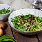 Würziges Veganes Bärlauch-Risotto mit Kokosmilch