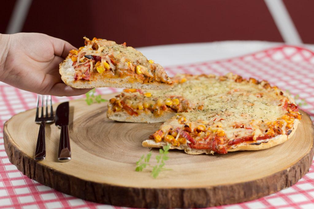 Vegane Fladenbrotpizza – schnelles Soul Food 3
