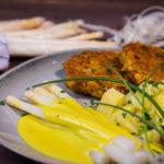 Weißer Spargel mit veganer Hollandaise - Perfektes Ostergericht