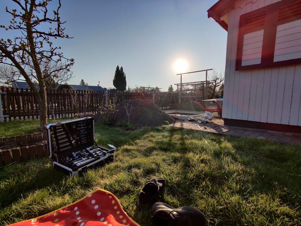 Parzelle 198 – Schaffe schaffe, Häusle baue | Gartentagebuch April 2020 1