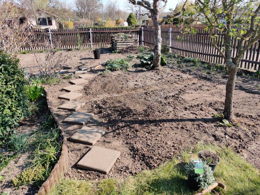 Parzelle 198 – Schaffe schaffe, Häusle baue | Gartentagebuch April 2020 12