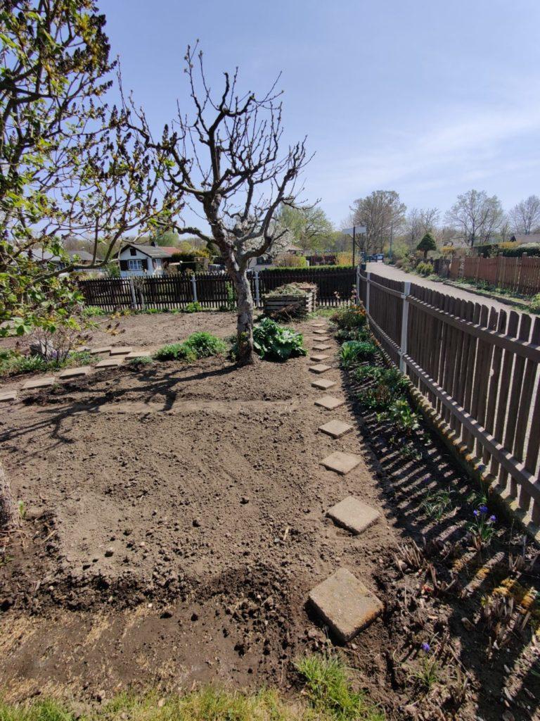 Parzelle 198 – Schaffe schaffe, Häusle baue | Gartentagebuch April 2020 17