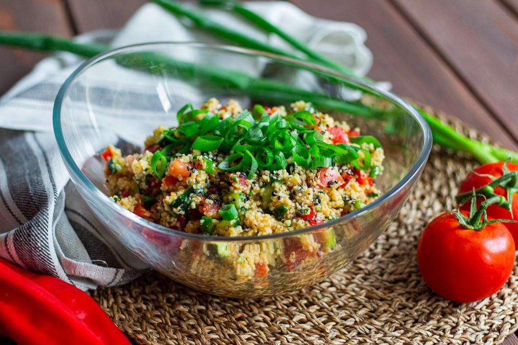 veganer Couscous-Salat