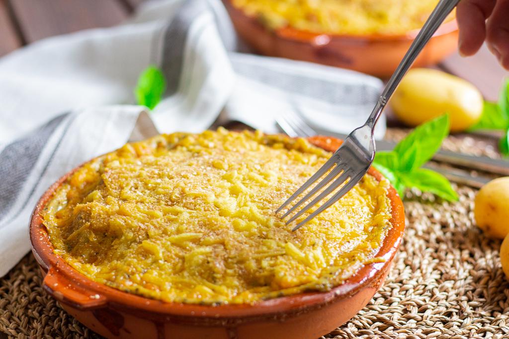 Zum anbeißen: veganer Kartoffel-Brokkoli Auflauf