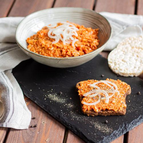 Veganes Mett aus Reiswaffeln einfach selber machen 1