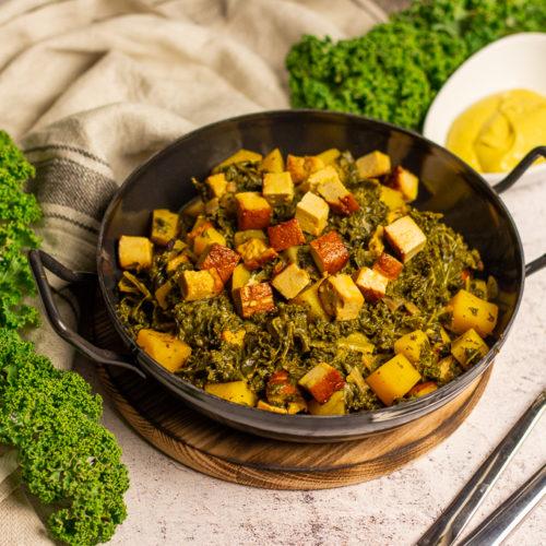 Veganer Grünkohl – Leckeres One-Pot Gericht im Winter 3