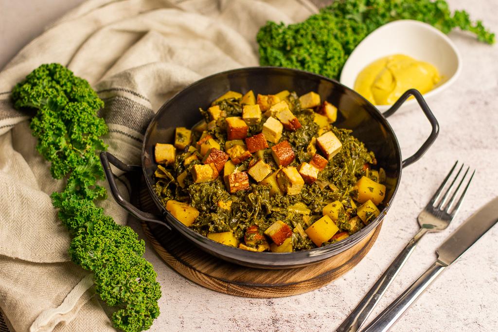 Veganer Grünkohl – Leckeres One-Pot Gericht im Winter 4
