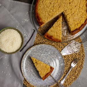 Veganer belgischer Reisfladen - die Käsekuchenalternative 2
