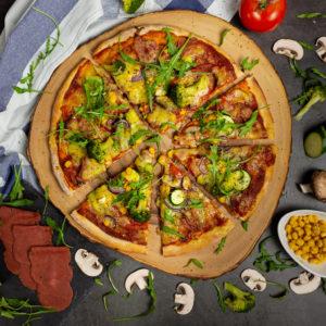 Der schnelle Pizzateig 2