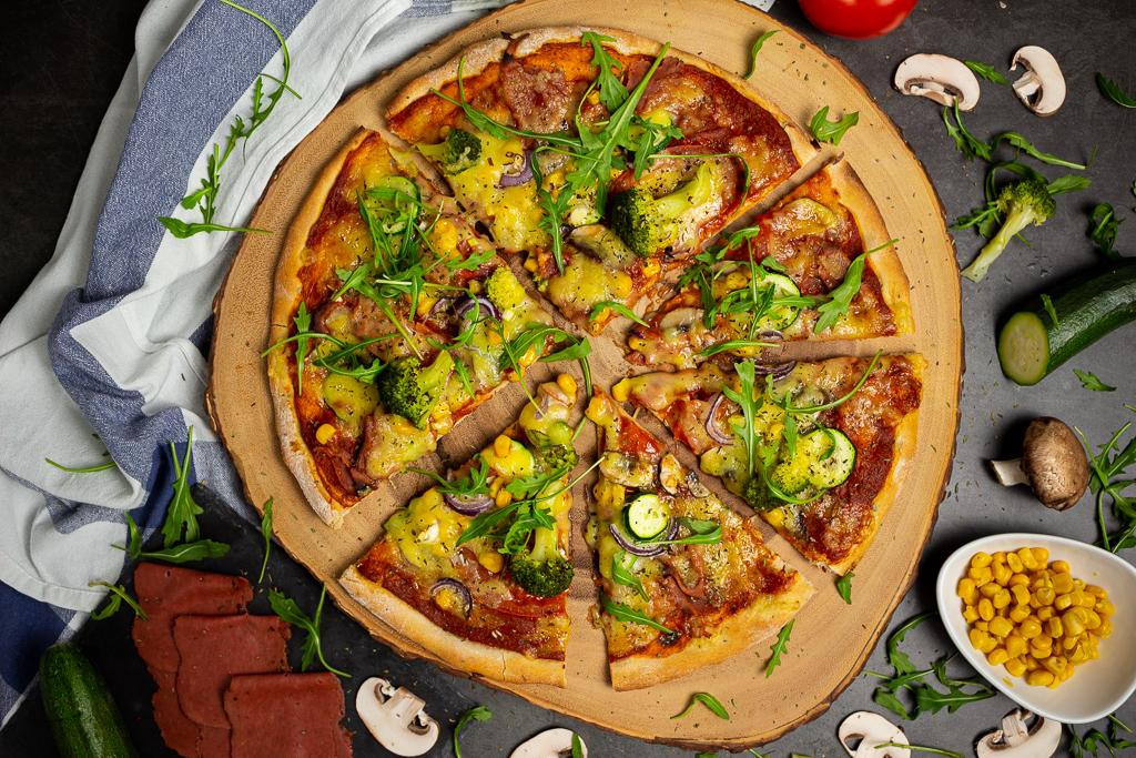 Der schnelle Pizzateig 1