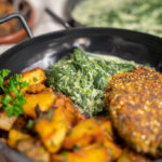 Veganen Rahmspinat kochen – Meine Anleitung für gefrorenen und frischen Spinat!