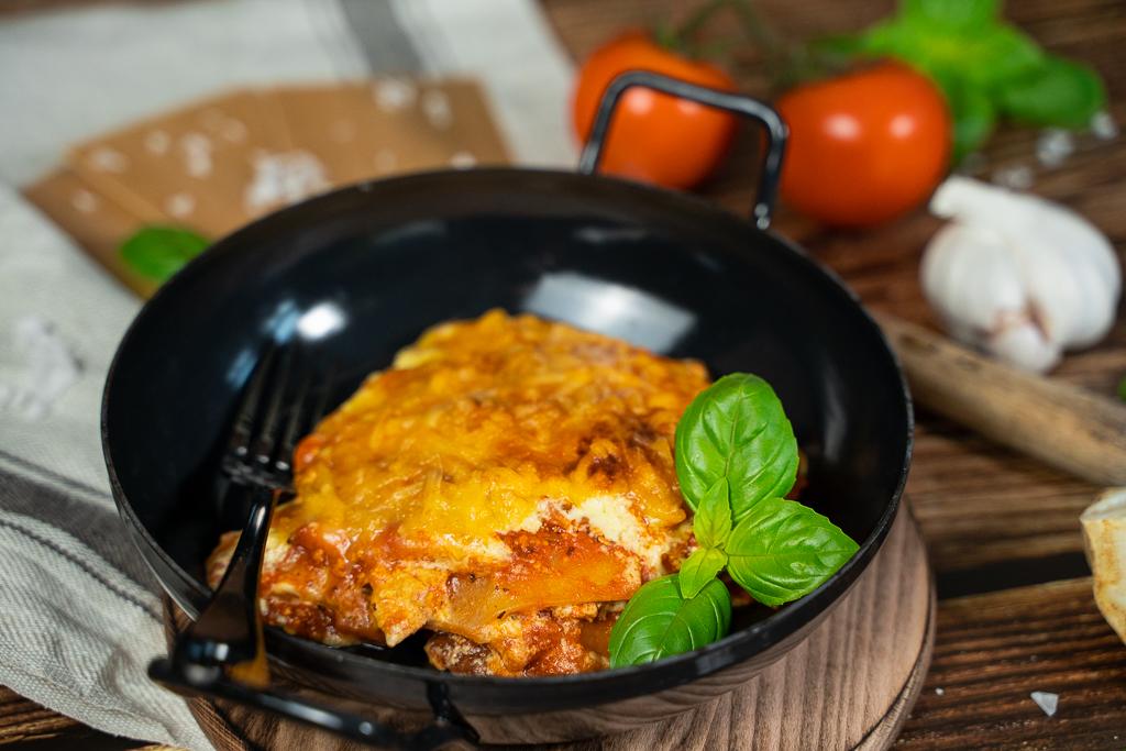 Eine gute Lasagne wird am besten hauchdünn geschichtet, damit sich die Aromen voll entfalten können