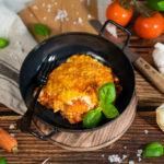 Vegane Lasagne mit würziger Béchamelsoße
